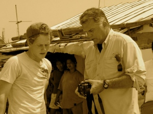 Chairman Wilson & Brant Doner, CHRF Field Reporter, investigate the Trafficking Epidemic in the Philippines.