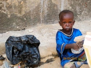 Children just like this precious boy have been rescued off the streets in Uganda thanks in part to the help of CHRF Donors like YOU!