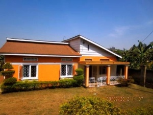 The handsome safe house where children are relocated after being rescued from the dangers living on the streets in Uganda.