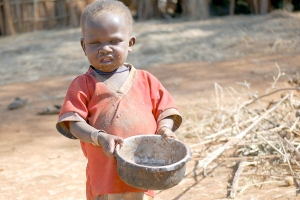 The children in Uganda are running out of food!