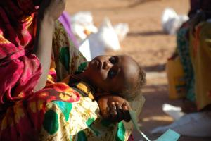 """We have got a responsibility to the Starving Children out there (in Somalia)."""