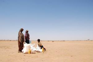 """""""We will work to find the Families who haven't been helped, who have been forgotten, just as we did in Somalia."""""""