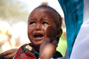 """""""It will be the innocent Children who suffer the most from these attacks""""- CHRF Emergency Team Leader on Sudan."""
