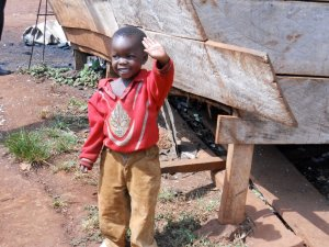 Thanks to their generosity and compassion, CHRF Donors are helping children like this little guy find a safe home where he can eat and receive a priceless education!