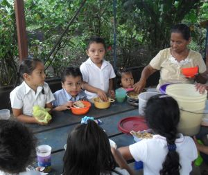 To Our CHRF Donors: Thank you for your help to provide meals for these hungry children!