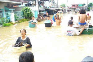 Entire Villages Submerged; More Devastation from the floods in the Philippines.