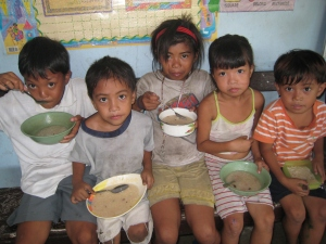 Five of the darling children fed and cared for by our Mother Joan in the Philippines!
