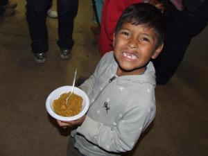 One in every four children in Honduras struggle with chronic-malnutrition. Thanks to our CHRF Donors we are helping to change this disturbing epidemic.