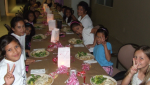 Our Happy Orphans in Honduras Celebrate Valentine's Day!