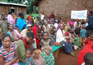 Hundreds of Thousands of meals are passed out to five villages by the CHRF team in Ethiopia.