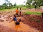 Without a Clean Water Well Our Children might have to turn to dirty puddles like this one for water.