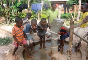 Thank you for allowing our children in Uganda to once again drink from CLEAN water!!!