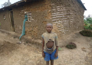 Hannington. A young boy who's life was changed thanks to the generous work and inspiration of Pastor Vanensio.