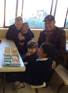 CHRF Board Director Warren Hays in Mexico with orphans that together we have helped rescue off the dangerous streets of Juarez!
