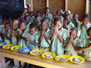 These children in Haiti are so grateful for your support! Any amount you give can help provide them with their meals!