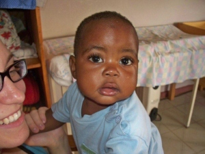 One of the darling children that together we have helped save and support in Zambia!