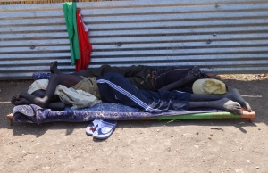 People are now sleeping on the streets after their homes and lives have been destroyed.