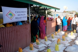 CHRF works around the world to help provide clean water, medicines and meals!
