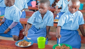 Would you believe the cost for a meal in Burundi for these children is just 21 cents?