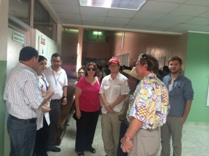 The CHRF Team travels to meet with Doctors in order to ensure all medicines are being used for children and families.