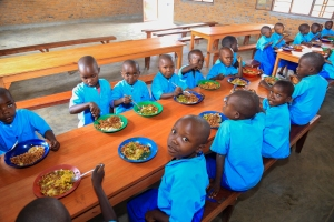 We are half way to feeding these beautiful children in Burundi for the whole school year!