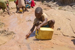 This little girl walks for hours on behalf of her family to find any type of water. The risk of sickness and disease is rampant. Thanks to CHRF and our committed partners on the ground in Burundi her community is now supplied with a clean water well!!! But they still need help to provide meals for their school children!
