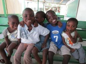 Thank You For Helping Feed Beautiful Children Like These in Haiti!