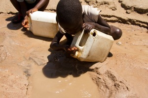 Can you even imagine walking for miles or hours to collect water that looks like this? It's hard to believe this is reality for millions of children!