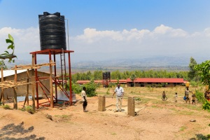 A Great New Look at a Brand New Water take in Burundi! Now providing clean water for needy children and their families!