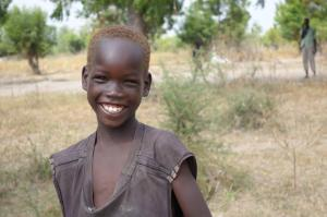 Thank you for helping smiling children around the world like this precious one!