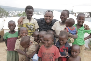 Our Partners Share A Happy Moment with Children that together we were able to help!