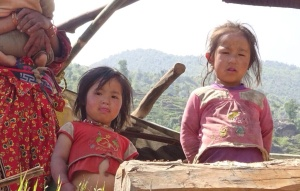 Together with your donations designated to Nepal Relief we can help children like these two who have had their homes destroyed.