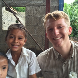 One of our CHRF Volunteers spending time with the beautiful children. Thank you for your support!