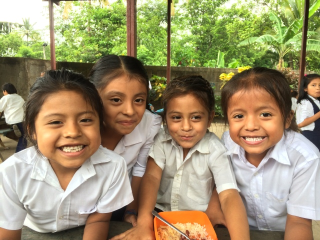 Just a few of the beautiful faces that we are helping to feed in Nicaragua!