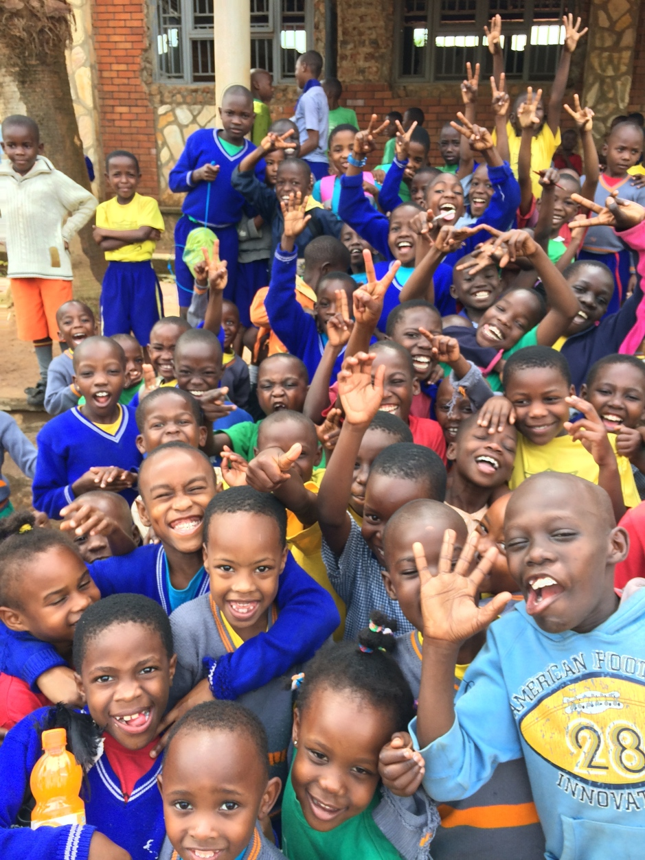 Happy Children In Uganda grateful to have a place to call home and a place where they are loved!