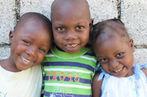 These children are survivors of undernourishment. Now they and their families celebrate and give thanks for being alive everyday!